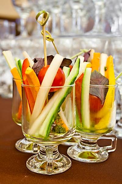 как подать овощи в стакане дизайн-проект квартиры под